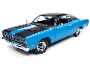 "1969 Plymouth Road Runner ""Class of 1969"" 1:18 Scale - AutoWorld Diecast Model Car"