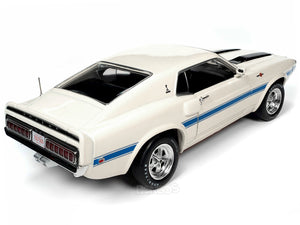 1970 Shelby Mustang GT500 428 Cobra Jet 1:18 Scale - AutoWorld Diecast Model Car