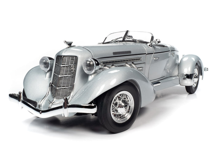 1935 Auburn 851 Speedster 1:18 Scale - AutoWorld Diecast Model Car