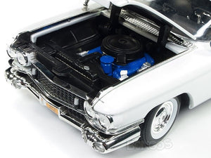 """Ghostbusters - ECTO-1"" 1959 Cadillac Ambulance 1:18 Scale - Autoworld Diecast Model Car"