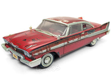 "Load image into Gallery viewer, ""Christine"" 1958 Plymouth Fury (Dirty Version) 1:18 Scale - AutoWorld Diecast Model Car"