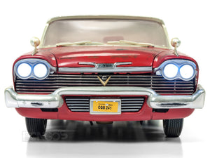 """Christine"" 1958 Plymouth Fury (Dirty Version) 1:18 Scale - AutoWorld Diecast Model Car"