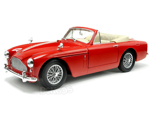 Aston Martin DB2-4 MKIII 1:18 Scale - Yatming Diecast Model (Red)
