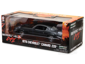 """Beverly Hills Cop II"" 1978 Chevy Camaro Z/28 1:18 Scale - Greenlight Diecast Model"