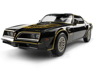"""Smokey & The Bandit"" 1977 Pontiac Trans-Am Firebird 1:18 Scale - Greenlight Diecast Model Car"
