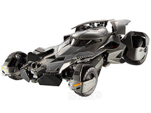 "Load image into Gallery viewer, Batmobile - Dawn of Justice ""Batman vs Superman - Elite Version"" 1:18 Scale - Hot Wheels Diecast Model (Grey)"