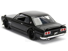 "Load image into Gallery viewer, ""Fast & Furious"" Brian's Nissan Skyline 2000 GT-R 1:24 Scale - Jada Diecast Model Car (Black)"