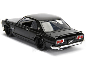 """Fast & Furious"" Brian's Nissan Skyline 2000 GT-R 1:24 Scale - Jada Diecast Model Car (Black)"