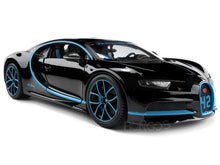 Load image into Gallery viewer, Bugatti Chiron #42 (0-400-0 in 42 Secs) Limited Edition 1:18 Scale - Bburago Diecast Model Car (42/Black)