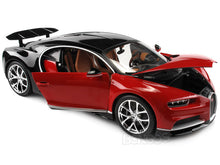 Load image into Gallery viewer, Bugatti Chiron 1:18 Scale - Bburago Diecast Model Car (Red)