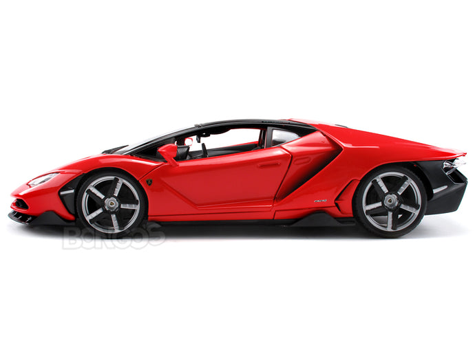 Lamborghini Centenario LP770-4 1:18 Scale - Maisto Diecast Model Car (Red)