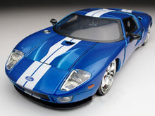 "Load image into Gallery viewer, ""Fast & Furious"" Ford GT 1:24 Scale - Jada Diecast Model Car (Blue)"