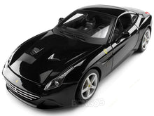Load image into Gallery viewer, Ferrari California T 1:18 Scale - Bburago Diecast Model Car (Black Top Up)