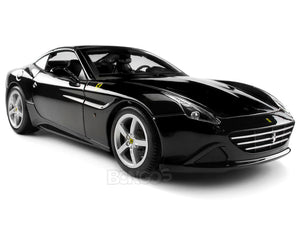 Ferrari California T 1:18 Scale - Bburago Diecast Model Car (Black Top Up)