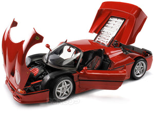 Ferrari F50 1:18 Scale - Bburago Diecast Model (Red)