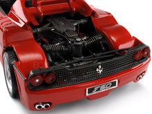 Load image into Gallery viewer, Ferrari F50 1:18 Scale - Bburago Diecast Model (Red)