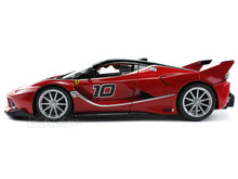 Load image into Gallery viewer, Ferrari FXX-K #10 1:18 Scale - Bburago Diecast Model Car (Red)