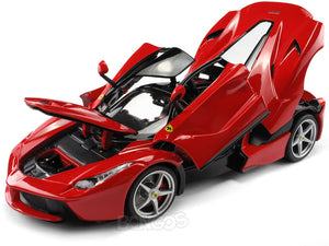 "Ferrari LaFerrari ""Signature Series"" 1:18 Scale - Bburago Diecast Model Car (Red)"