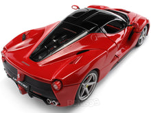 "Load image into Gallery viewer, Ferrari LaFerrari ""Signature Series"" 1:18 Scale - Bburago Diecast Model Car (Red)"