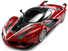 "Load image into Gallery viewer, Ferrari FXX-K #88 ""Signature Series"" 1:18 Scale - Bburago Diecast Model Car (Red)"