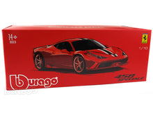 "Load image into Gallery viewer, Ferrari Speciale ""Signature Series"" 1:18 Scale - Bburago Diecast Model Car (Red)"