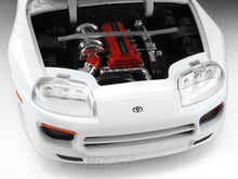 "Load image into Gallery viewer, ""Fast & Furious"" Brian's Toyota Supra 1:24 Scale - Jada Diecast Model Car (White)"