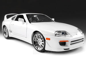 """Fast & Furious"" Brian's Toyota Supra 1:24 Scale - Jada Diecast Model Car (White)"