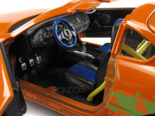 "Load image into Gallery viewer, ""Fast & Furious"" Brian's Toyota Supra w/ Figure 1:24 Scale - Jada Diecast Model Car (Orange)"