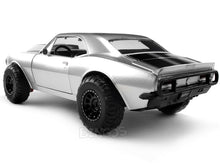 "Load image into Gallery viewer, ""Fast & Furious"" Roman's Chevy Camaro 1:24 Scale - Jada Diecast Model Car (Silver/4x4)"