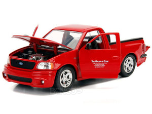 """Fast & Furious"" Brian's Ford F-150 SVT Lightning 1:24 Scale - Jada Diecast Model Car (Red)"