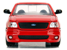 "Load image into Gallery viewer, ""Fast & Furious"" Brian's Ford F-150 SVT Lightning 1:24 Scale - Jada Diecast Model Car (Red)"