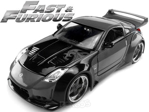 """Fast & Furious"" DK's Nissan 350Z 1:24 Scale - Jada Diecast Model Car (Grey)"