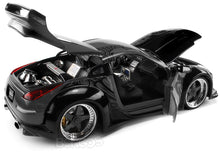 "Load image into Gallery viewer, ""Fast & Furious"" DK's Nissan 350Z 1:24 Scale - Jada Diecast Model Car (Grey)"