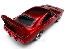 "Load image into Gallery viewer, ""Fast & Furious"" 1969 Dodge Charger Daytona 1:24 Scale - Jada Diecast Model Car (Red)"