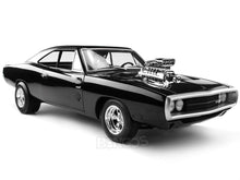 "Load image into Gallery viewer, ""The Fast and The Furious"" 1970 Dodge Charger R/T - Heritage Version 1:18 Scale - Hot Wheels Diecast Model Car"