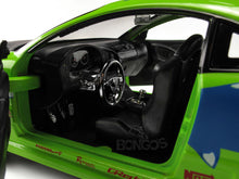 "Load image into Gallery viewer, ""Fast & Furious"" Brian's Mitsubishi Eclipse 1:24 Scale - Jada Diecast Model Car (Green)"