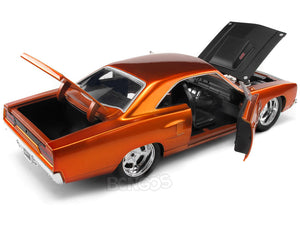 """Fast & Furious"" Dom's Plymouth Road Runner 1:24 Scale - Jada Diecast Model Car (Orange)"