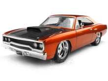 "Load image into Gallery viewer, ""Fast & Furious"" Dom's Plymouth Road Runner 1:24 Scale - Jada Diecast Model Car (Orange)"