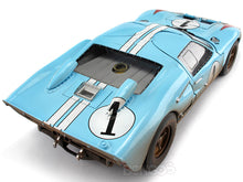 Load image into Gallery viewer, 1966 Ford GT-40 (GT40) Mk II #1 Le Mans Miles/Hulme 1:18 Scale - Shelby Collectables Diecast Model Car (Gulf/Dirty)