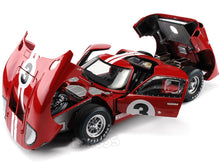 Load image into Gallery viewer, 1966 Ford GT-40 (GT40) Mk II #3 Le Mans Gurney/Grant 1:18 Scale - Shelby Collectables Diecast Model Car (Red)