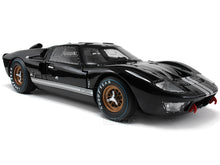Load image into Gallery viewer, 1966 Ford GT-40 (GT40) Mk II 1:18 Scale - Shelby Collectables Diecast Model Car (Black)