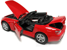 Load image into Gallery viewer, Honda S2000 Convertible 1:18 Scale - Maisto Diecast Model Car (Red)