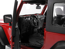 Load image into Gallery viewer, Jeep Wrangler JK Safari 1:18 Scale - Maisto Diecast Model Car (Red)