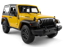 Load image into Gallery viewer, Jeep Wrangler JK Safari 1:18 Scale - Maisto Diecast Model Car (Yellow)