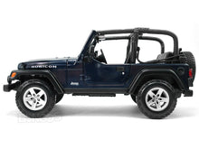 Load image into Gallery viewer, Jeep Wrangler TJ Rubicon 1:18 Scale - Maisto Diecast Model Car (Blue)