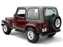 Load image into Gallery viewer, Jeep Wrangler TJ Safari 1:18 Scale - Maisto Diecast Model Car (Maroon)