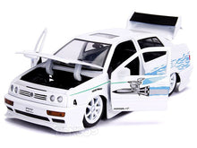 "Load image into Gallery viewer, ""Fast & Furious"" Jesse's 1995 VW Jetta A3 1:24 Scale - Jada Diecast Model Car (White)"