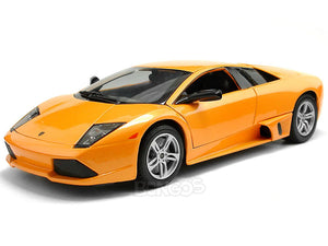 Lamborghini Murcielago LP640 1:18 Scale - Maisto Diecast Model Car (Orange)