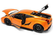 Load image into Gallery viewer, Lamborghini Gallardo Superleggera 1:18 Scale - Maisto Diecast Model Car (Orange)