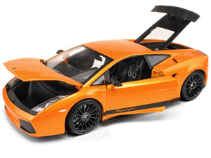 Lamborghini Gallardo Superleggera 1:18 Scale - Maisto Diecast Model Car (Orange)
